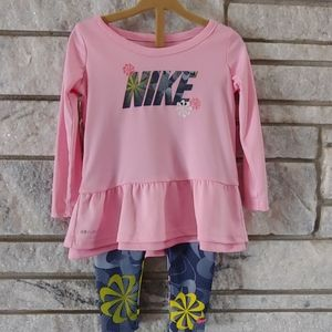 Pink Nike outfit 18 months